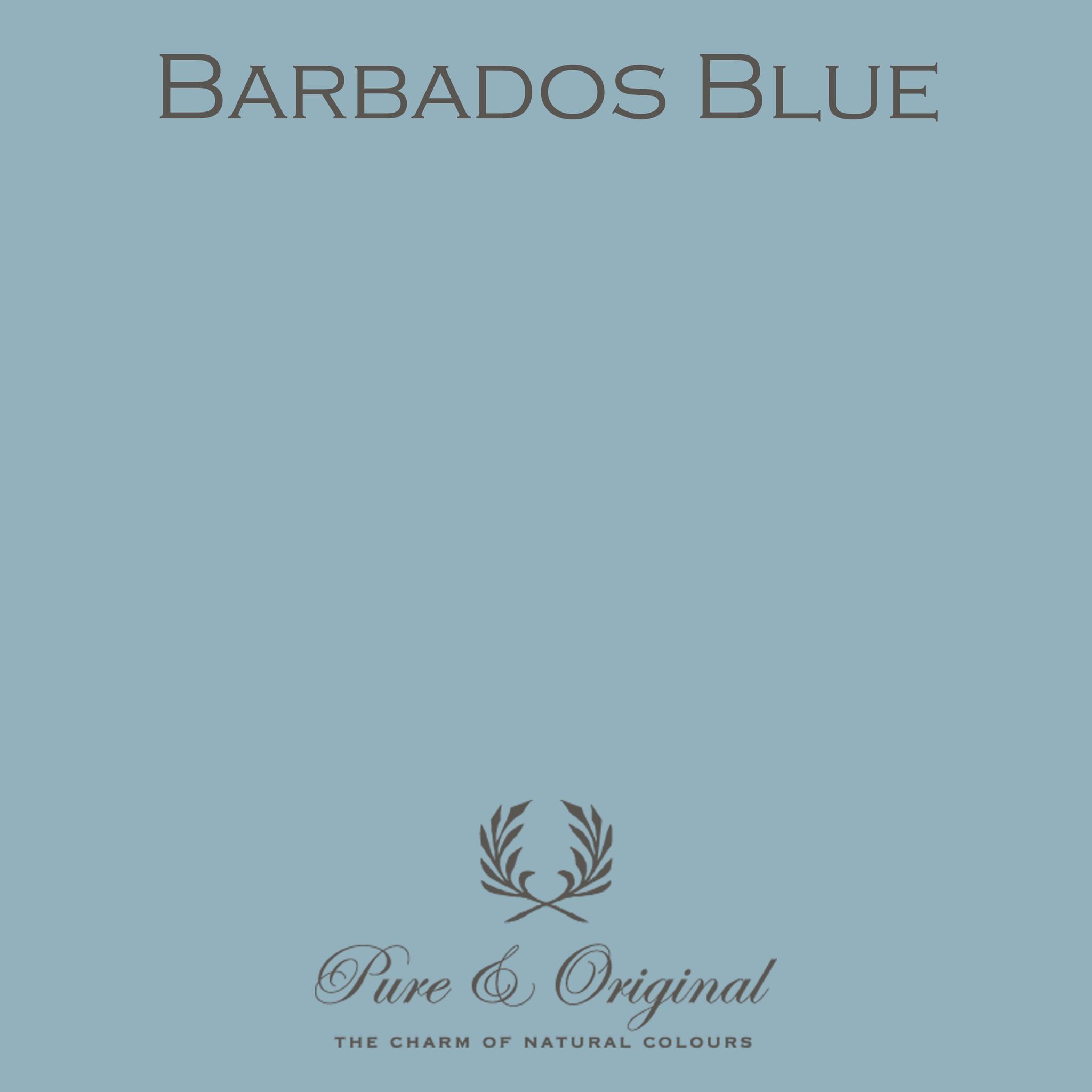Pure & Original Barbados Blue mat of ultramatte lak