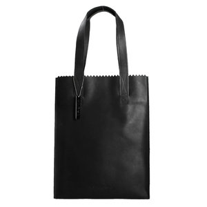 MYOMY MY PAPER BAG SHOPPER - BLACK