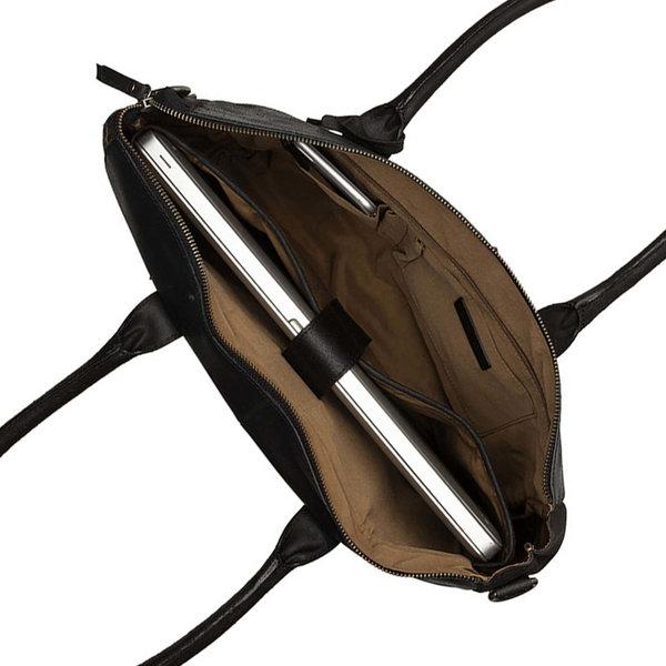 Burkely VINTAGE LAPTOP BAG - BLACK