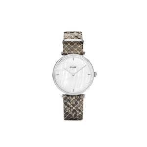 CLUSE CLUSE SNAKE WATCH - SILVER