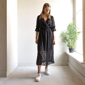 LOTZ & LOT FAY STAR DRESS - BLACK