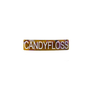 HVISK CANDYFLOSS HAIRCLIP - BROWN