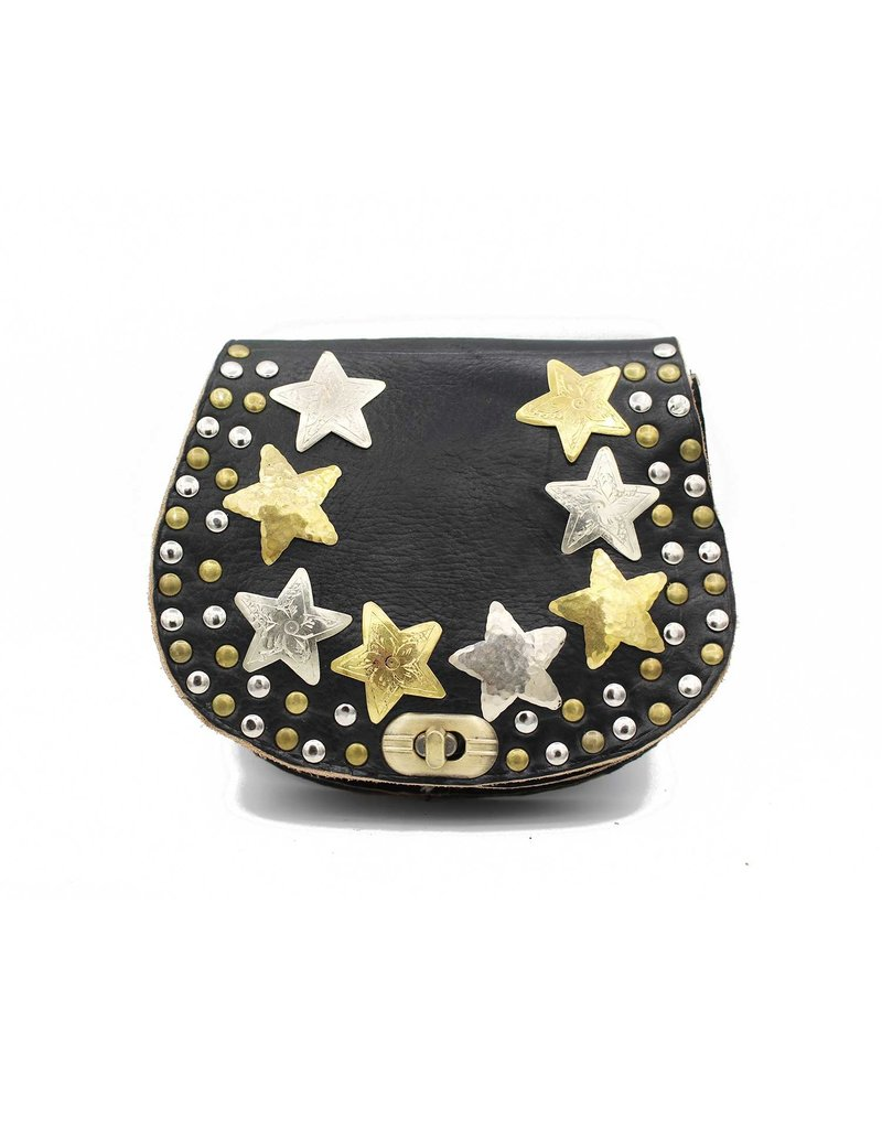 Studs & Stones LOT S BAG - BLACK