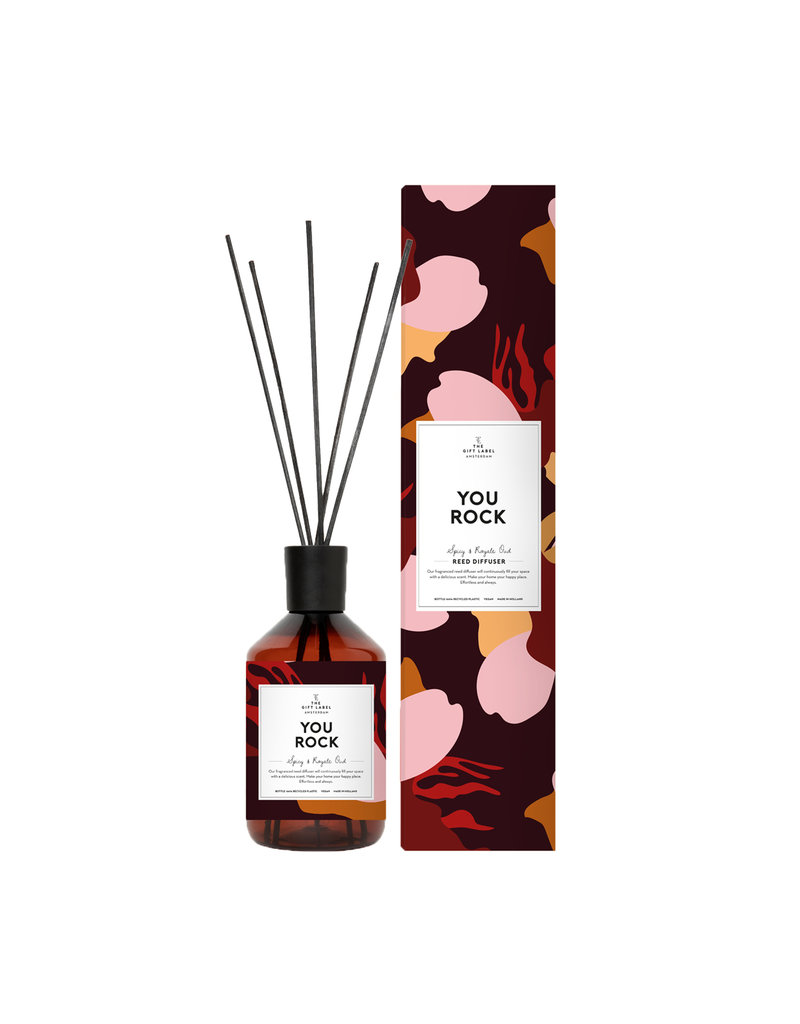 The Gift Label YOU ROCK DIFFUSER - SPICY/ROYALE OAD