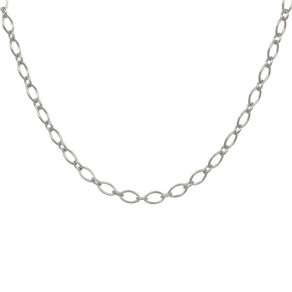 Eline Rosina STATEMENT MARQUISE NECKLACE - SILVER