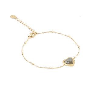 My Jewellery POWERSTONE BRACELET - GOLD/BROWN
