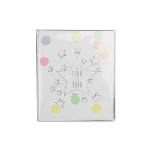 The Gift Label CONFETTI CARD - A STAR IS BORN
