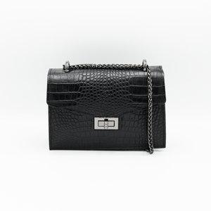 LOTZ & LOT MOOS CHAIN BAG - BLACK
