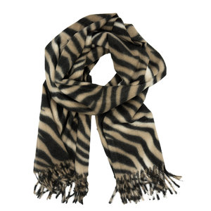 LOTZ & LOT CHAR SCARF - BROWN