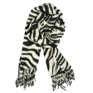 LOTZ & LOT CHAR SCARF - WHITE
