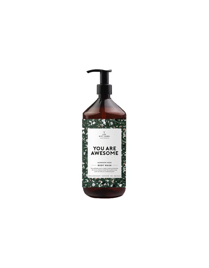 The Gift Label BODY WASH - YOU ARE AWESOME