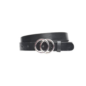 DSTRCT DOUBLE RING BELT - SILVER