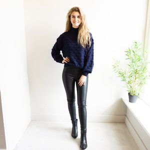 Ambika XENI LEATHER PANTS - BLACK