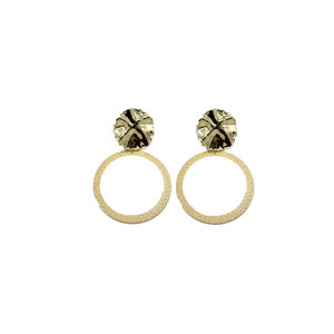 Go Dutch MILA EARRINGS - GOLD