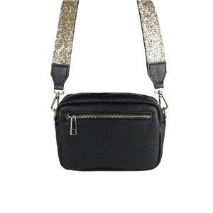 Baggyshop SPARKLE BAG - BLACK/GOLD