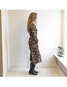 LOTZ & LOT AYLIN PARSLEY DRESS - BLACK/MULTI