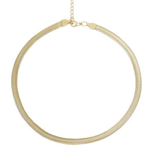 My Jewellery FLAT CHAIN NECKLACE - GOLD