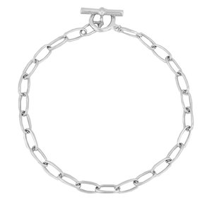 My Jewellery BIG CHAIN NECKLACE - SILVER