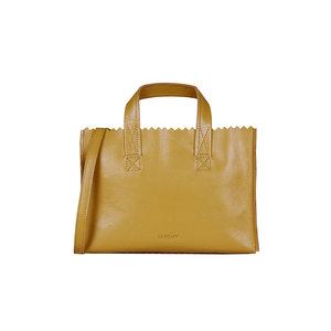 MYOMY MY PAPER BAG MINI - SEVILLE OCHER