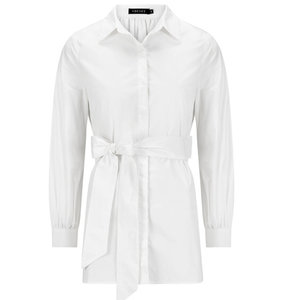 Ydence TEDDY BLOUSE- WHITE