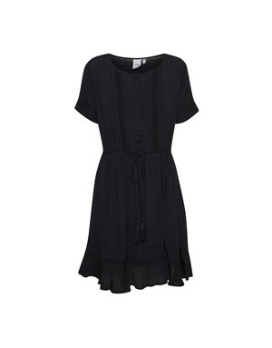 ICHI ICHI DRESS - BLACK