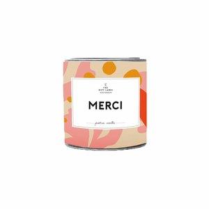 The Gift Label CANDELE MERCI SMALL - MULTI