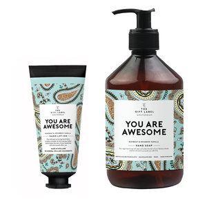 The Gift Label GIFTSET - YOU ARE AWESOME