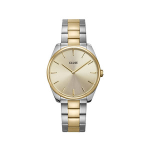 CLUSE CLUSE FÉROCE WATCH - SILVER/GOLD