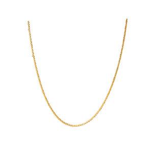 ZAG Bijoux TWISTED NECKLACE - GOLD