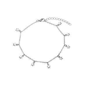 LIFE OF BULU STAR ANKLET - SILVER