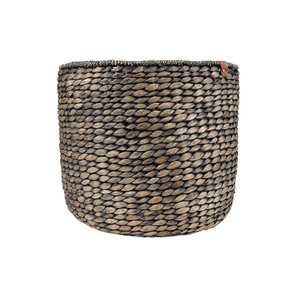 Zusss BRAIDED BASKET - BROWN