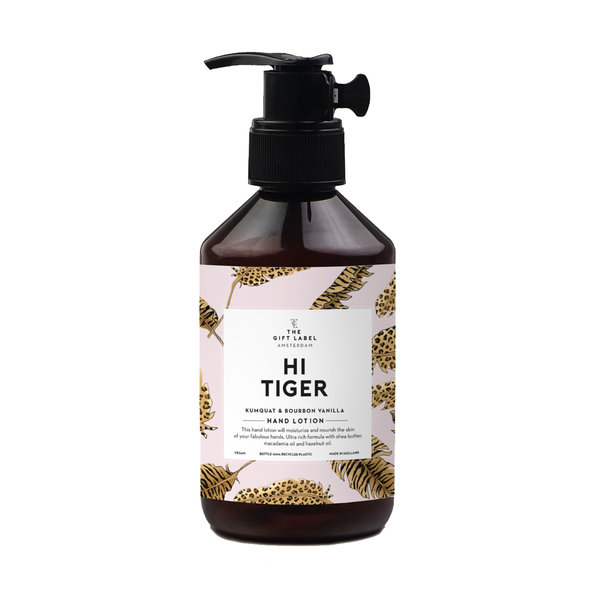The Gift Label HAND LOTION - HI TIGER