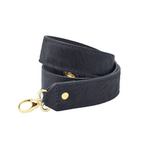 Number FIVE FURRY BAGSTRAP - BLACK/GOLD