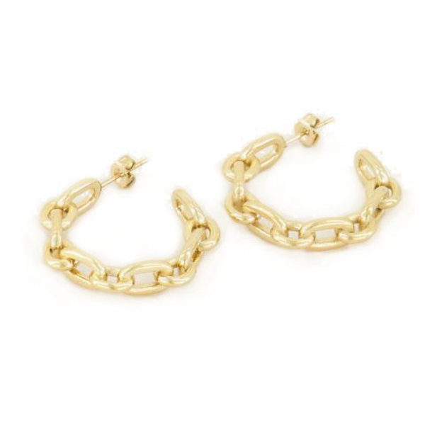 My Jewellery CHAIN EARRINGS - GOLD