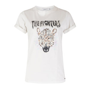 Ambika THE FIGHTERS T-SHIRT - WHITE