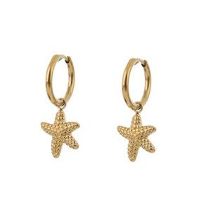 Go Dutch STARFISH EARRING - GOLD