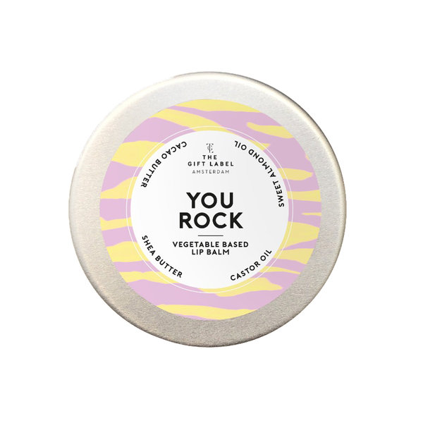 The Gift Label YOU ROCK - LIP BALM