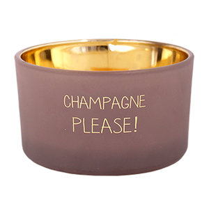 My Flame CHAMPAGNE PLEASE - SCENTED CANDLE