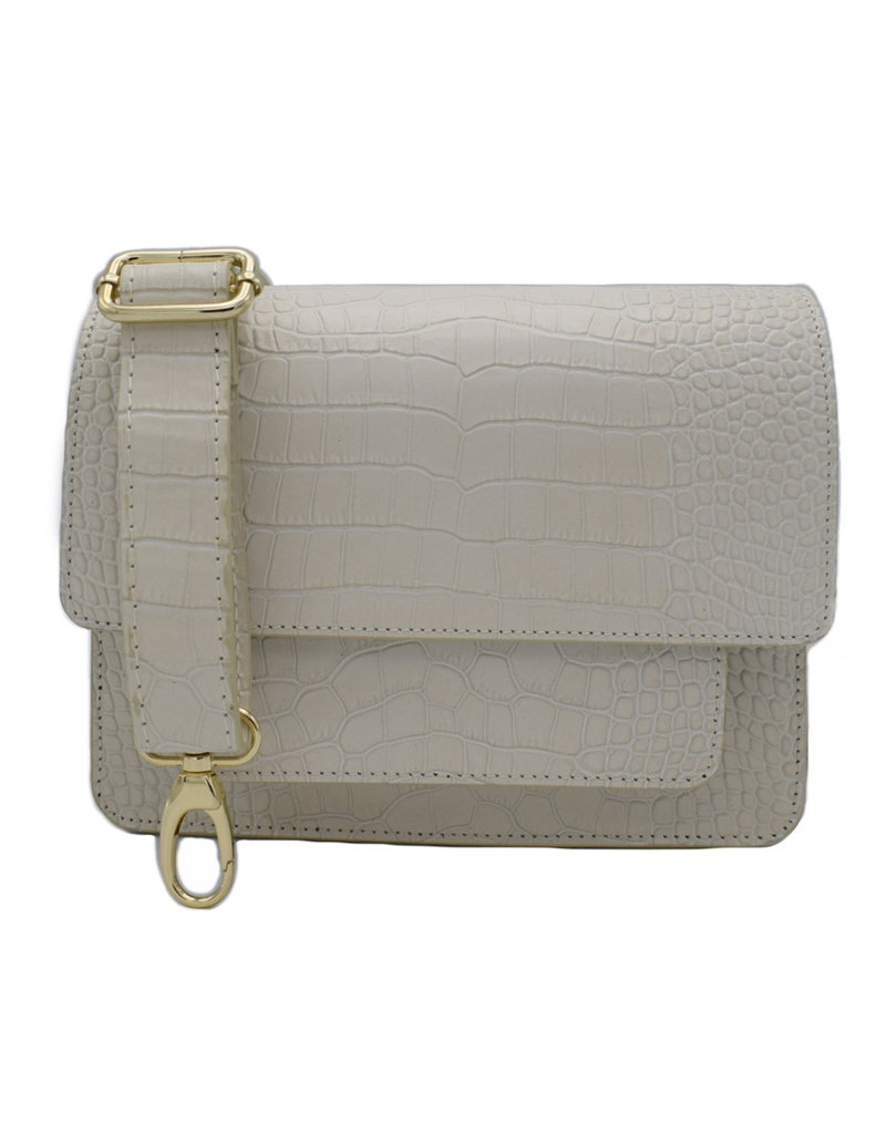 Number Five COCO BAG - OFF WHITE/GOLD