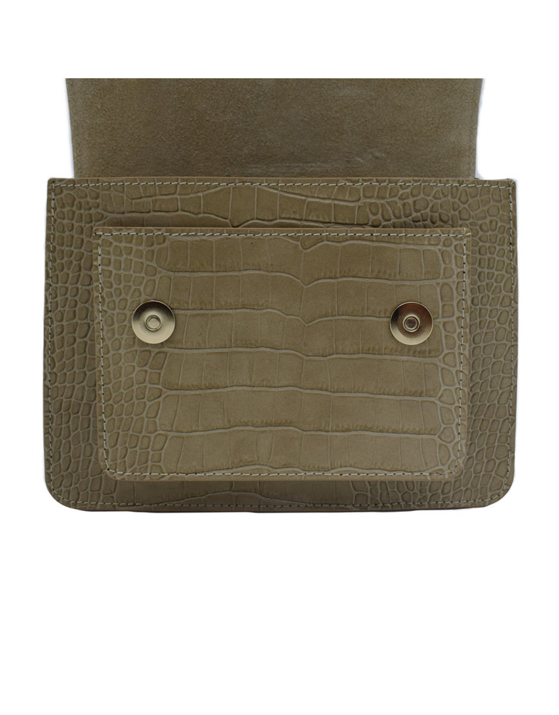 Number Five COCO BAG - TAUPE/GOLD