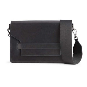 Markberg VANYA CROSSBODY BAG - BLACK SNAKE