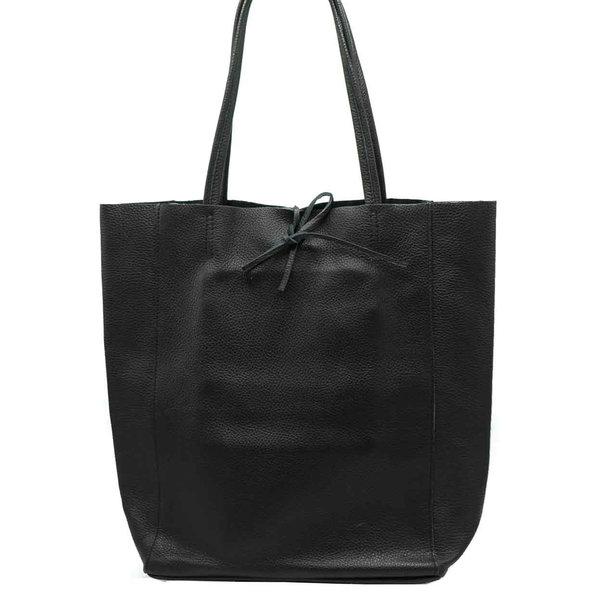 Lotz & Lot MIA CLASSIC GRAIN SHOPPER - BLACK