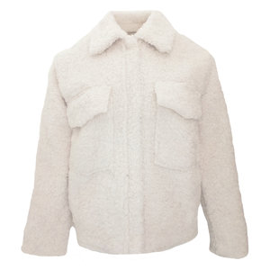 IVI TEDDY JACKET - BEIGE