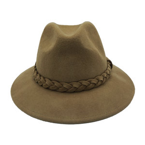 Lotz & Lot JOE BRAIDED HAT - TAUPE