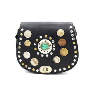 Studs & Stones JOE BAG S - BLACK