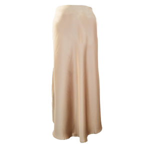 Lotz & Lot ELODY SATIN SKIRT - BEIGE