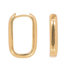 Eline Rosina ICON HOOPS - GOLD