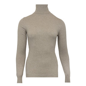 Lotz & Lot QUINTY TURTLENECK - TAUPE