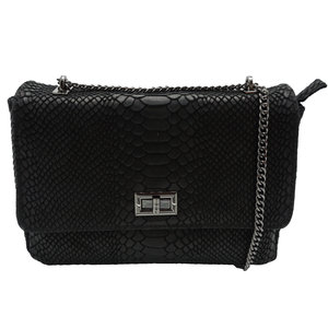 Lotz & Lot EVI SNAKE BAG - BLACK