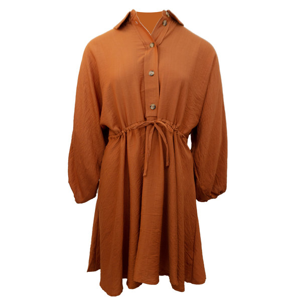Rut & Circle EVY DRESS - ORANGE